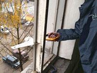 Демонтаж окна