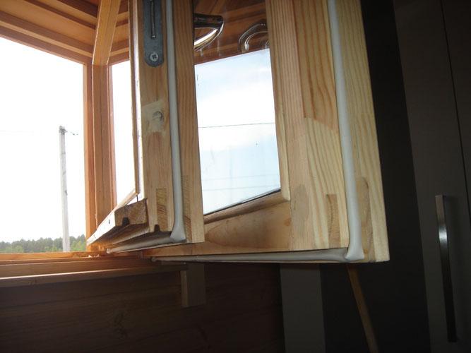 Ремонт деревянных окон со стеклопакетом своими руками 50